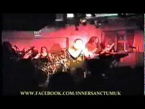 INNER SANCTUM 'A LITTLE RAIN' LIVE SHUNTERS CLUB (cut) UK 1995 TECHNICAL THRASH PROGRESSIVE METAL