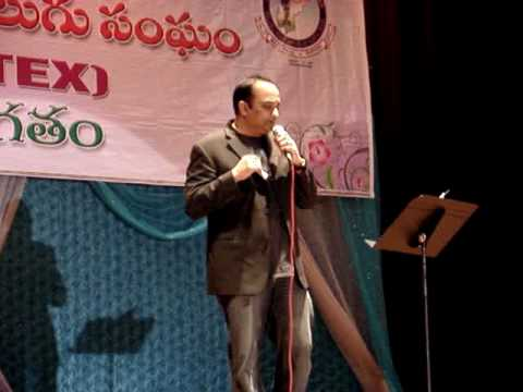 Ninnu Talachi - Vichitra Sodarulu TANA,TV9,TANTEX Competition Final Round