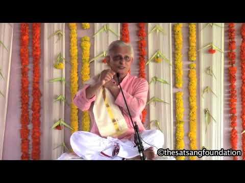 Sri M - Satsang (2) - Chennai Retreat 2017