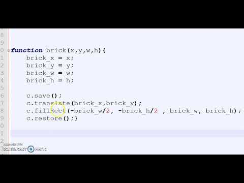 Coding JavaScript Games Breakout 12 Object Functions Continued