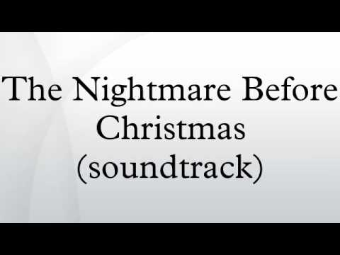 The Nightmare Before Christmas (soundtrack) - YouTube