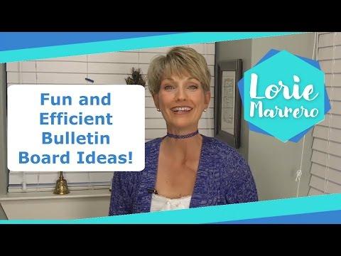 Fun and Efficient Bulletin Board Ideas!