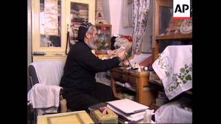 ISRAEL: JERUSALEM: SYRIAN ORTHODOX CHURCH ARAMAIC LANGUAGE