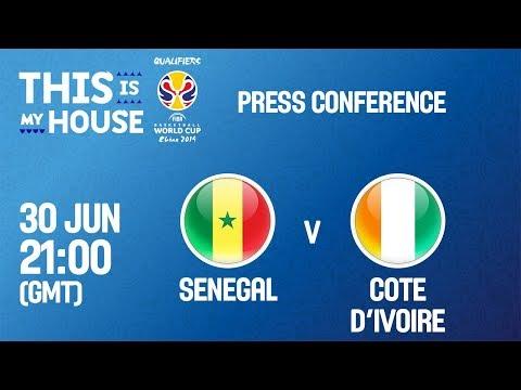 Senegal v Cote d'Ivoire - Press Conference - FIBA Basketball World Cup 2019