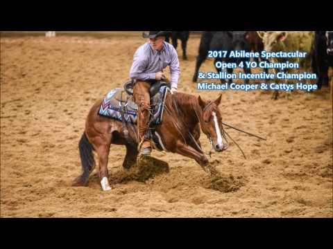 Michael Cooper 2017 Abilene Spectacular Open 4 Year Old Champion