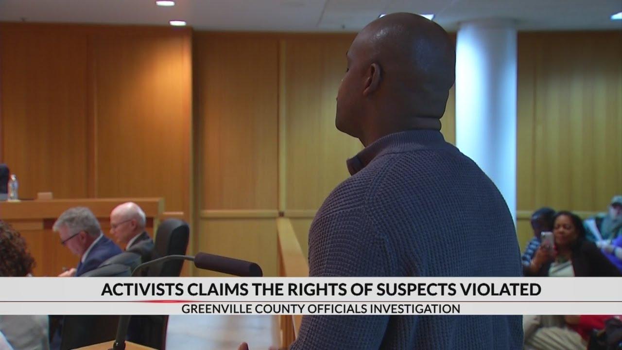 Activist alleges Greenville Co  Detention Center violating