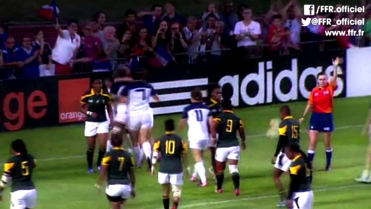 wrwc rugby feminin france coupe du monde 2014 tribute youtube