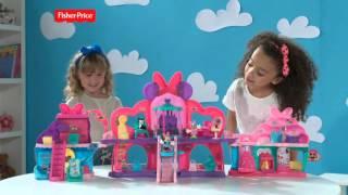 Fisher-Price® La Maison de Minnie et Minnie Arc en ciel | BDH01 | DJM25