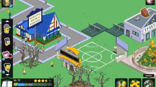 Simpsons Springfield - Первое видео