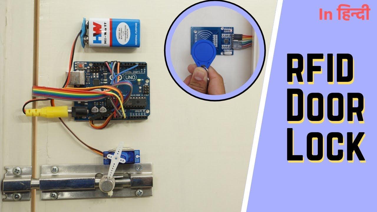 How To Make Rfid Door Lock Using Arduino Indian