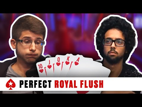 Royal Flush at the 2016 PCA - Huge Three-Way Pot | PokerStars