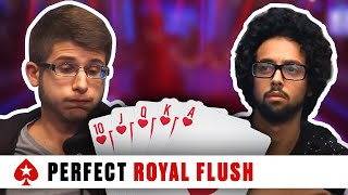 Repeat youtube video Royal Flush at the 2016 PCA - Huge Three-Way Pot | PokerStars