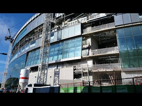 Spurs New Stadium - White Hart Lane - 18 May 2018