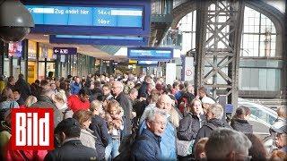 Nach dem Sturm - Das Bahn-Chaos am Hamburger Hauptbahnhof
