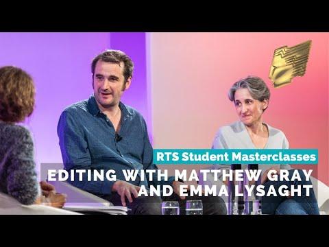 RTS Student Craft Masterclasses 2019   Editing