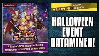 Halloween Event REVEALED! 5* Light Elisanne, Edward, Althemia!