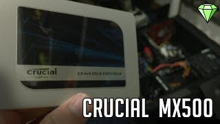 how to INSTALL and REVIEW // Crucial MX500 SSD. Is it Worth it?