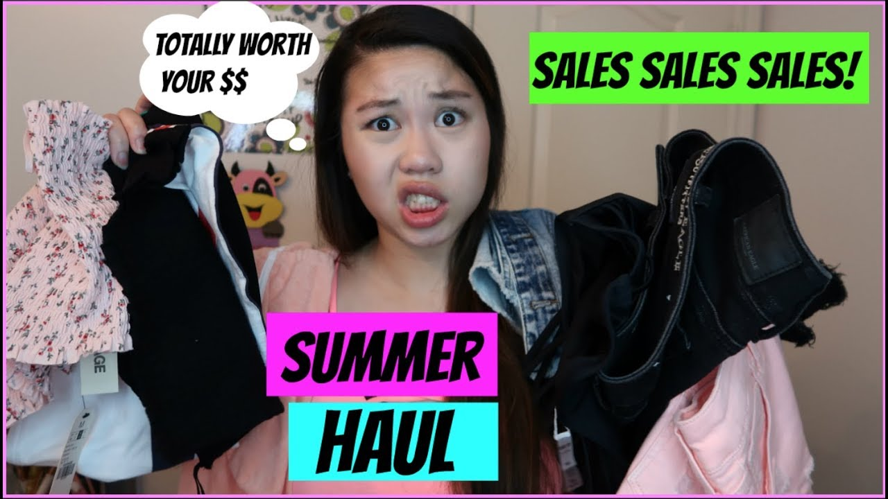 Summer Outfit Ideas | Haul Video! 2