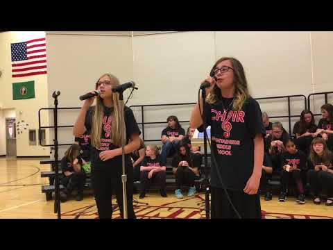 Mountainside Middle School concert-June 2018-duet