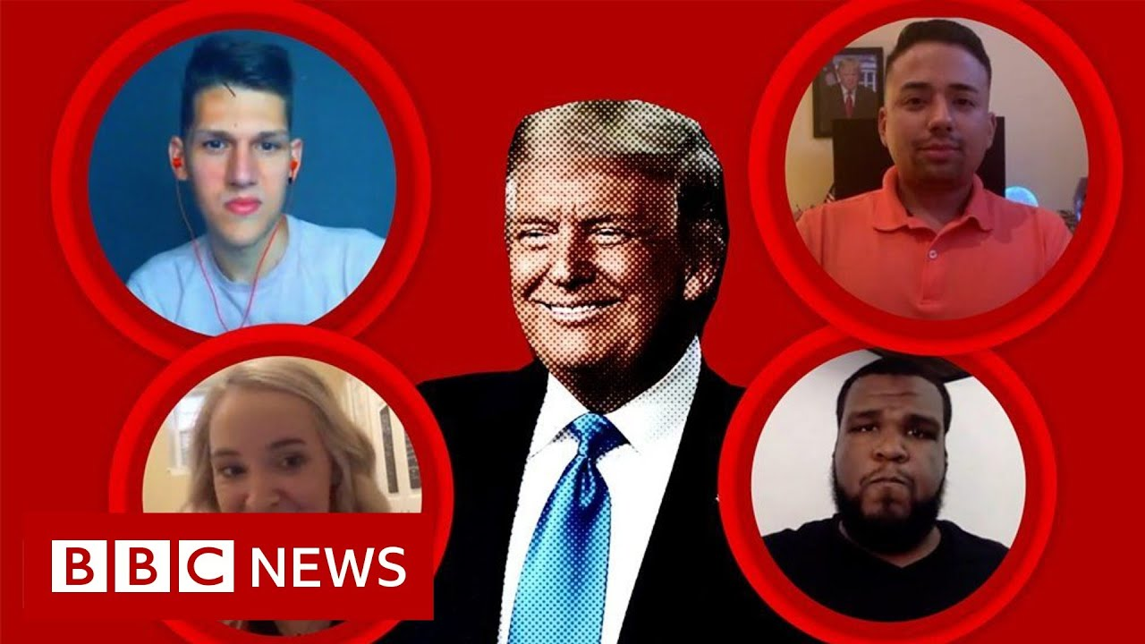 RNC 2020: What young Republicans think of Trump - BBC News