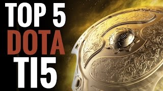 Top 5 Plays - TI5 Main Event - DOTA 2