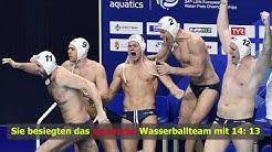 Schwimm-EM: Ungarn holt Gold im Wasserball-Finale!