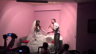 Подарок мужа жене на свадьбе!!!