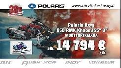 Euroopan suurimmalta Polaris jälleenmyyjältä talven 2020 moottorikelkat