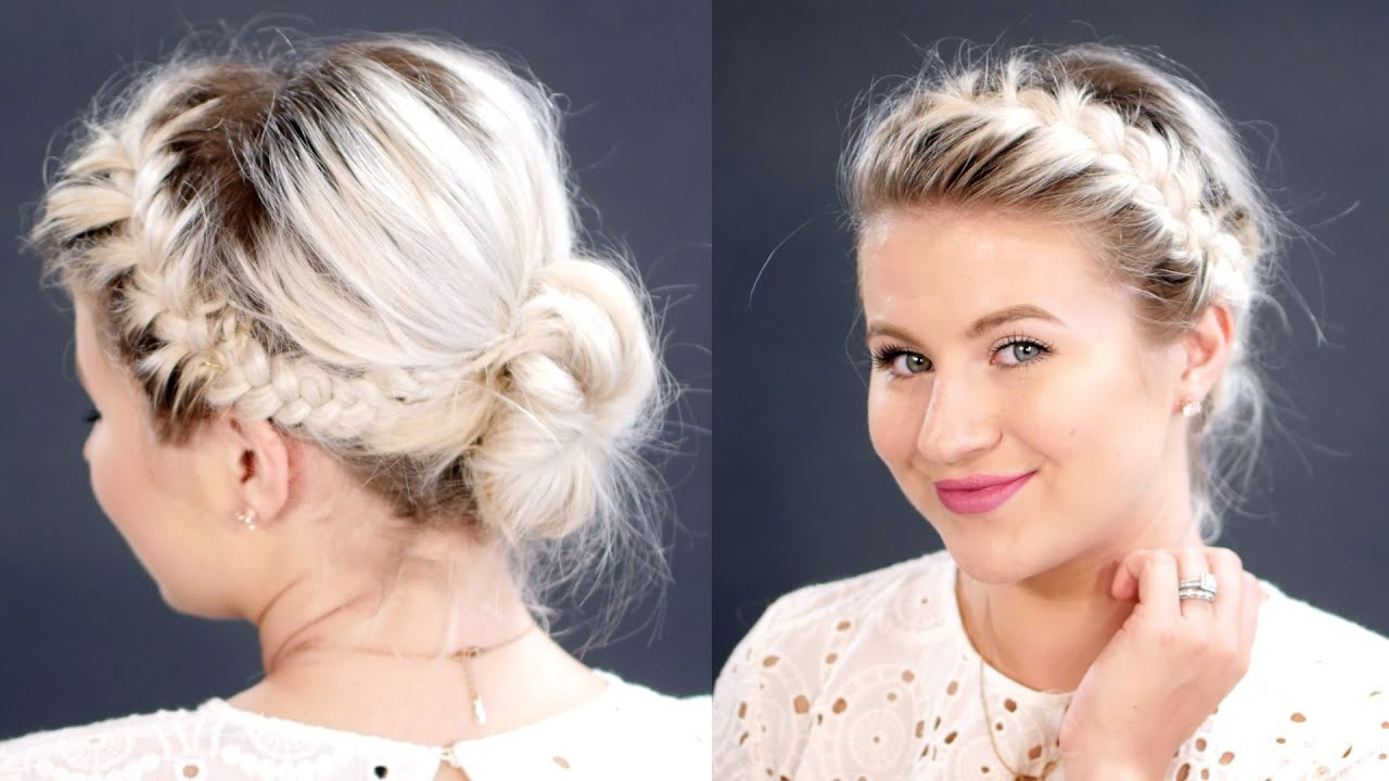 Short Hairstyles With Braids | Fade Haircut