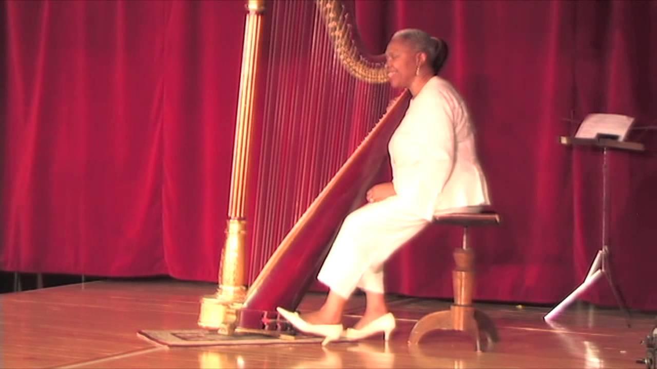 Harpist Alfra 233 Johnson Ragins Performs African American