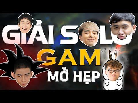 Giải Solo GAM mở hẹp tổng giải thưởng dưới 100 triệu: Levi, Zeros, Kiaya, Yoshino, Zin mập.