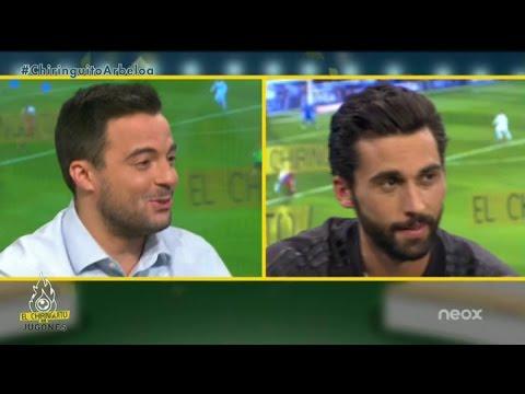 ¡El divertido test de Nacho Peña a Álvaro Arbeloa!