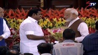 மோடியை மீண்டும் பிரதமராக்க நாடாளுமன்றத்தில் பாஜக எம்.பி-க்கள் கூட்டம்