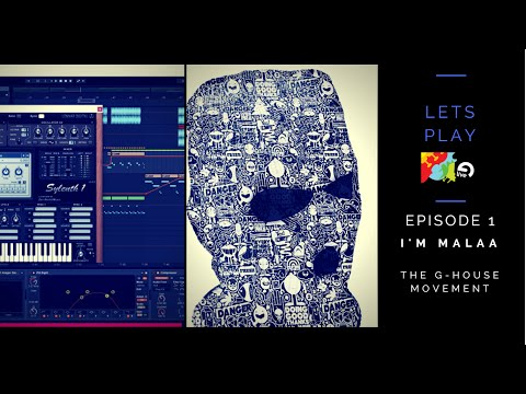 Let's Play Ableton Live 9 Episode 1 I'm MALAA The G-HOUSE Movement