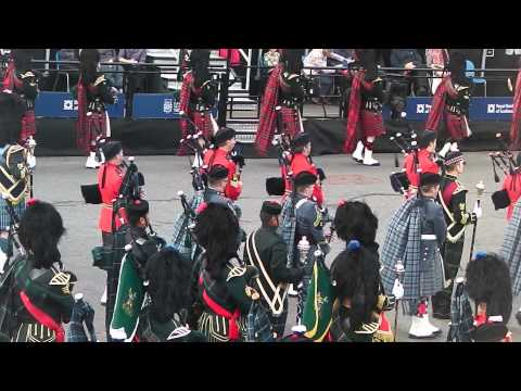 Edinburgh Military Tattoo 2015 - Massed Pipes and Drums