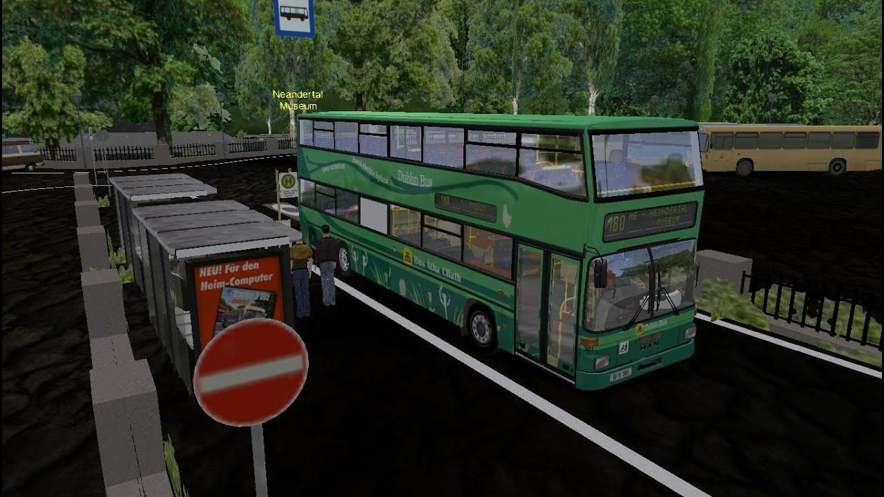 Omsi The Bus SimulatorMap Essen Route 180 Dublin Electric Bus