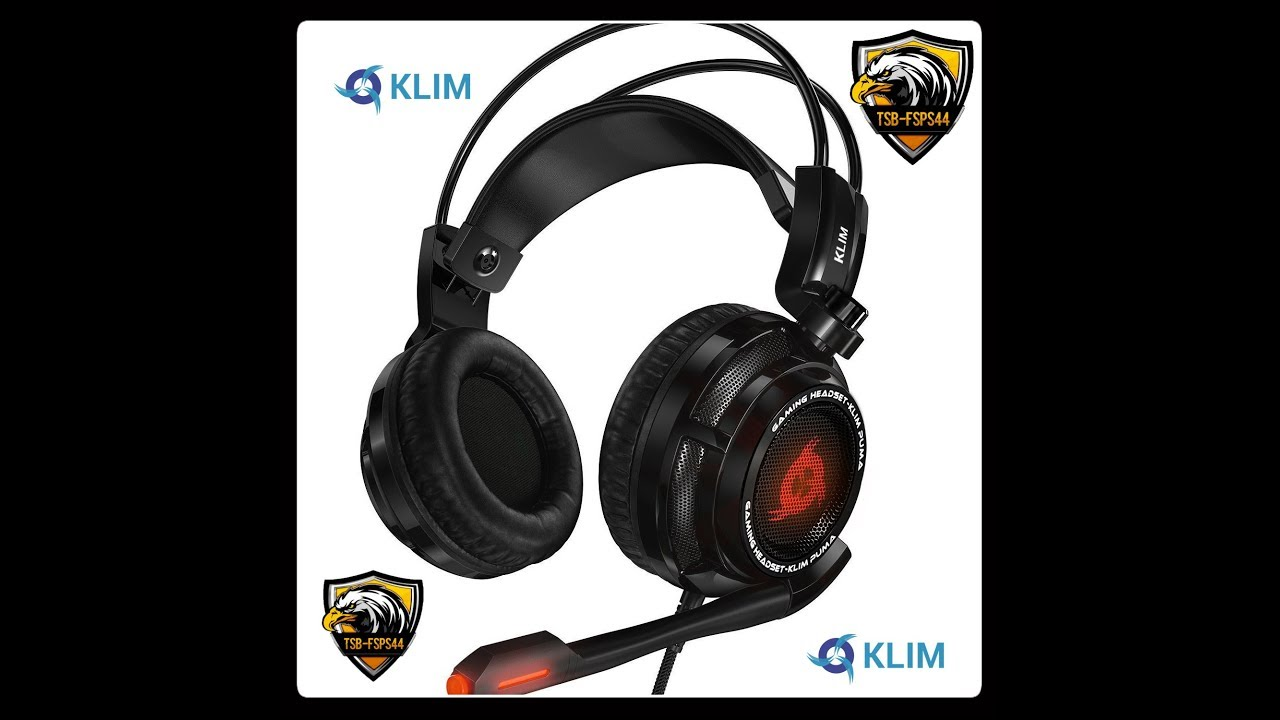 Klim Puma Micro Casque Gamer Son 71 Audio Haute Qualité