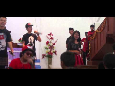 Siantar Rap Foundation   Dainang   Live At Natal NHKBP Batu IV   Pematangsiantar