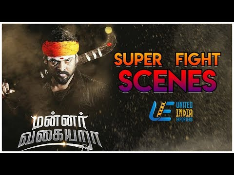Mannar Vagaiyara - Action Scenes   Vemal   Anandhi   Prabhu    2017 Tamil Movies