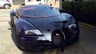 Bugatti Veyron Grand Sport Vitesse Walkaround in Hale Cheshire March 2015