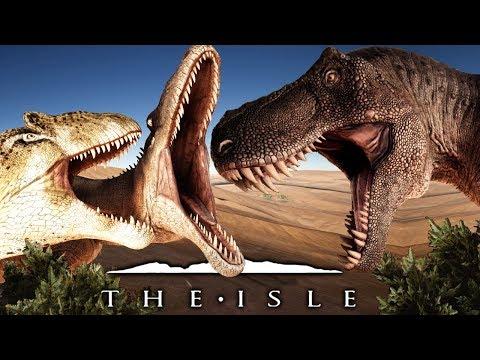 The Isle - Allosaurus im Kampf gegen die Raptoren und den T-Rex! | Let
