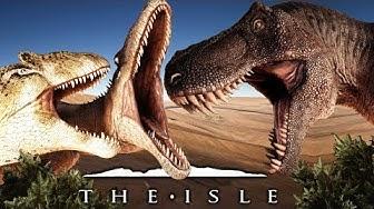 The Isle - Allosaurus im Kampf gegen die Raptoren und den T-Rex! | Let's Play The Isle Deutsch
