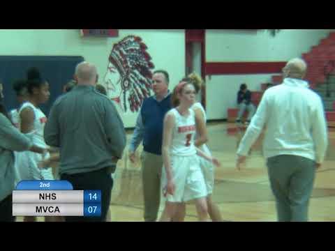 NHS Girls Varsity Basketball vs Miami Valley Christian Academy - January 17, 2018