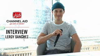 Pre-Concert Interview with Leroy Sanchez at Channel Aid - live in Concert at Elbphilharmonie