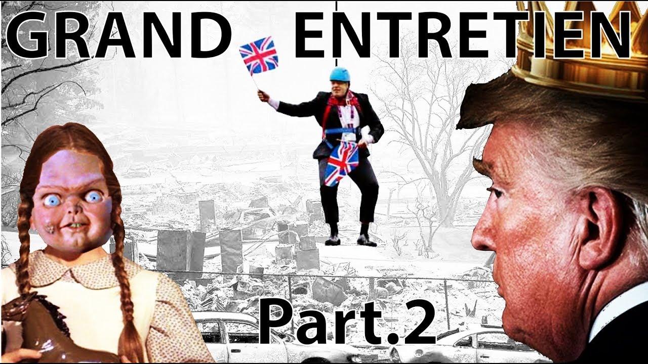 Pierre Yves Rougeyron Entretien d'actualité septembre 2 Brexit - Trump - Greta