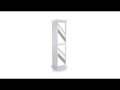 Swivel Storage Tower with Mirror
