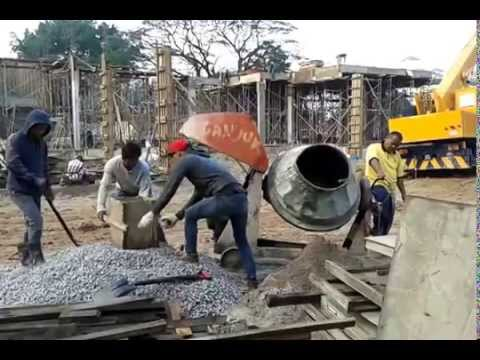 Concrete Mixing For Cast-In- Situ 01 - YouTube