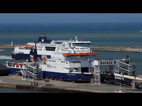 Portos de Dover e de Calais preparam-se para Brexit