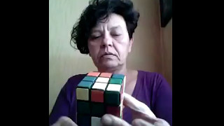 Solve Rubik's Cube -Even My Mom Is Faster Than You :D