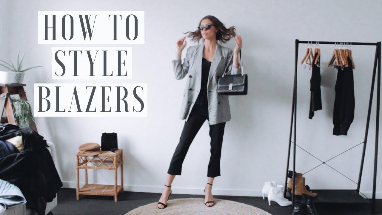 Blazer Outfit Ideas | How To Style Blazers ? 1 BLAZER, 9 OUTFITS!